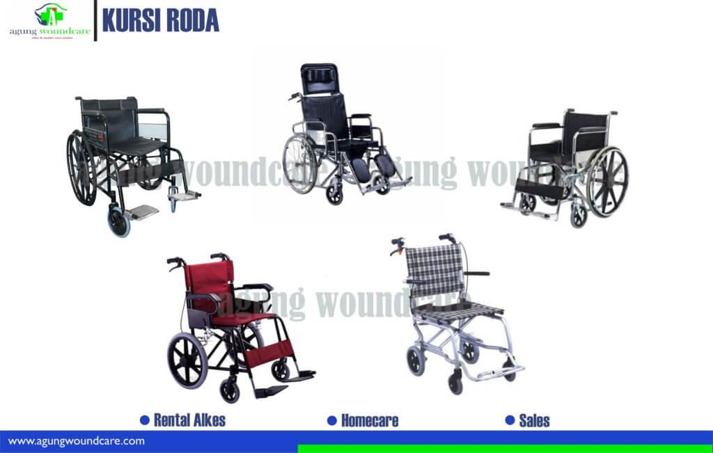 berbagai macam kursi roda