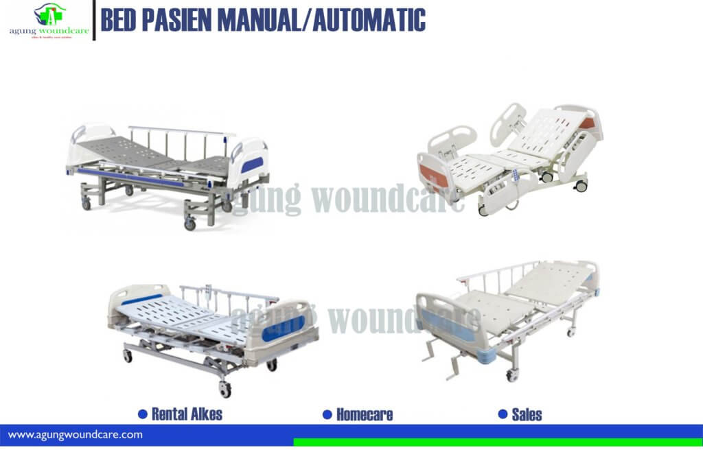 bed pasien manual dan automatic